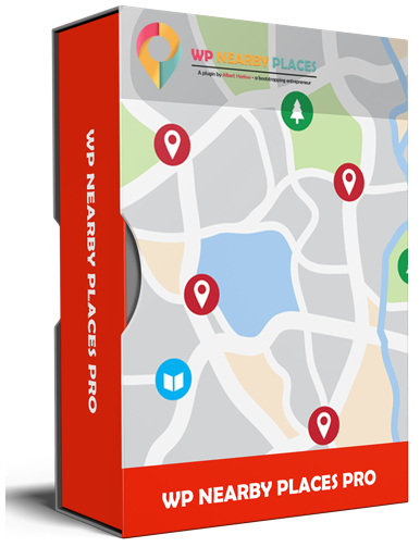 WP Nearby Places PRO WordPress Plugin