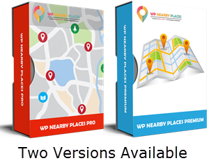 WP Nearby Place Premium and Pro Versions