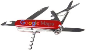 The Google Maps Swiss Army Knife