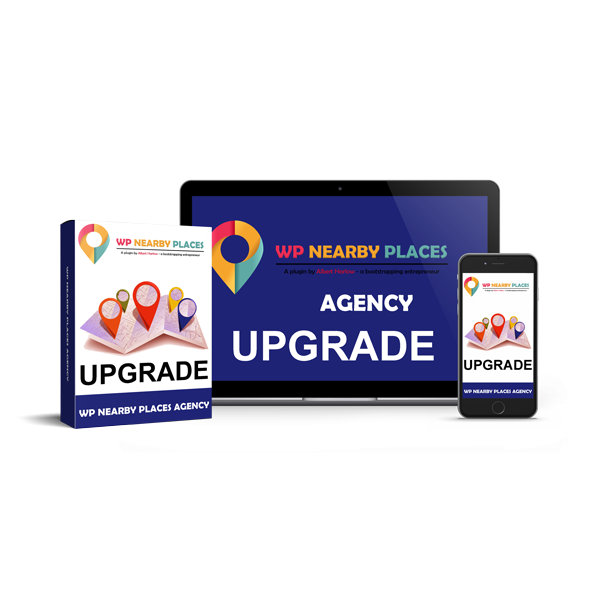 WP Nearby Places Pro Upgrade Agency